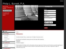 Firm Logo for Philip L. Burnett, P.A.