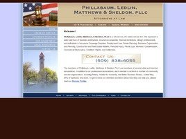 Phillabaum, Ledlin, Matthews <br />& Sheldon PLLC Law Firm Logo