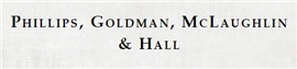 Firm Logo for Phillips, Goldman, McLaughlin & Hall