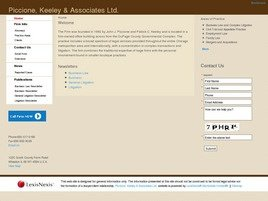 Piccione, Keeley & Associates Ltd. Law Firm Logo