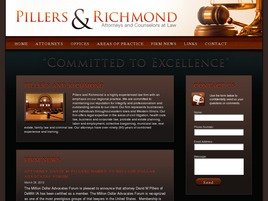 Firm Logo for Pillers Richmond Attorneys at Law