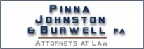 Firm Logo for Pinna Johnston Burwell P.A.