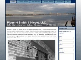 Plauché Smith & Nieset, LLC Law Firm Logo