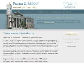 Firm Logo for Proctor McKee P.A.