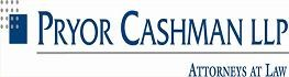 Pryor Cashman LLP Law Firm Logo