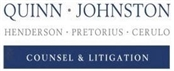 Quinn, Johnston, Henderson, Pretorius and Cerulo <br />Chartered Law Firm Logo