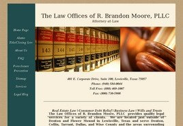 Firm Logo for The Law Offices of <br />R. Brandon Moore, PLLC