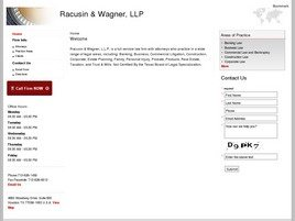 Firm Logo for Racusin Wagner LLP