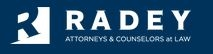 Radey Law Firm Law Firm Logo