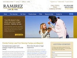 Firm Logo for Ramirez Law Firm