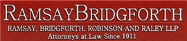 Firm Logo for Ramsay, Bridgforth, Robinson <br />and Raley LLP