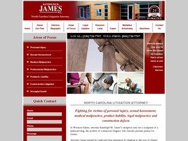 Firm Logo for Randolph M. James, P.C.