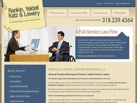 Rankin, Yeldell, & Katz A Professional Law Corporation Law Firm Logo