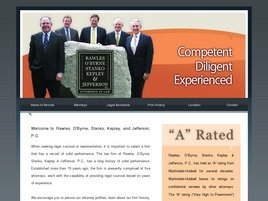 Rawles, O'Byrne, Stanko, Kepley <br />& Jefferson, P.C. Law Firm Logo