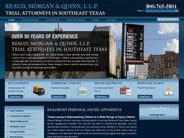 Reaud, Morgan & Quinn, L.L.P. Law Firm Logo