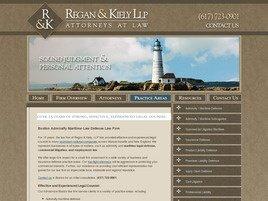 Regan & Kiely LLP Law Firm Logo