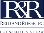 Reid and Riege, P.C. Law Firm Logo