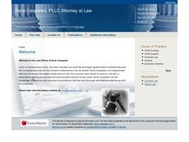 Rene Cespedes, PLLC <br />Attorney at Law Law Firm Logo