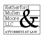 Retherford, Mullen & Moore, LLC Law Firm Logo