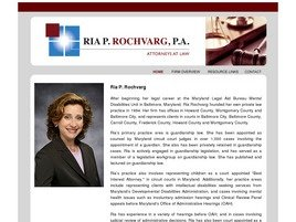 Firm Logo for Ria P. Rochvarg, P.A.