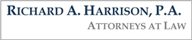 Firm Logo for Richard A. Harrison P.A.