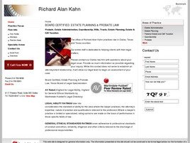 Firm Logo for Richard Alan Kahn