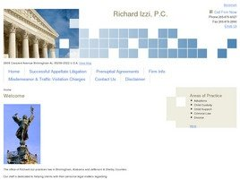 Firm Logo for Richard Izzi, P.C.