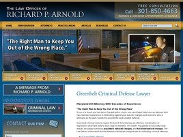 Richard P. Arnold Law Firm Logo