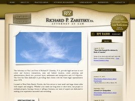 Firm Logo for Richard P. Zaretsky P.A. Attorney at Law