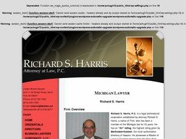 Firm Logo for Richard S. Harris Attorney at Law P.C.