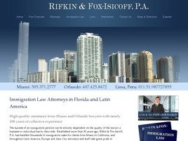 Firm Logo for Rifkin and Fox-Isicoff, P.A.