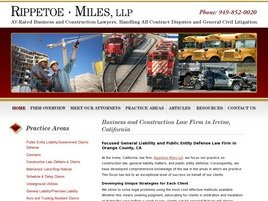 Firm Logo for Rippetoe Miles LLP