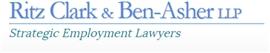 Ritz Clark & Ben-Asher LLP Law Firm Logo