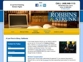 Firm Logo for Robbins Strunk