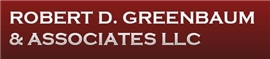 Robert D. Greenbaum <br />& Associates LLC Law Firm Logo