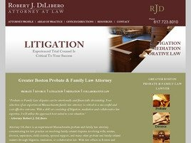 Robert J. DiLibero Law Firm Logo