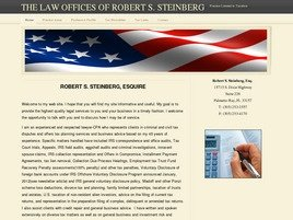 Firm Logo for Robert S. Steinberg, Esquire