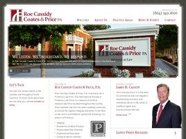 Roe Cassidy Coates & Price, P.A. Law Firm Logo