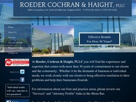 Firm Logo for Roeder Cochran Haight PLLC