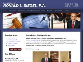 Ronald L. Siegel, P.A.