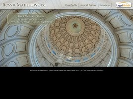 Ross & Matthews, P.C. Law Firm Logo