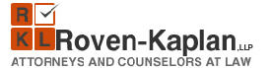 Roven-Kaplan, LLP Law Firm Logo