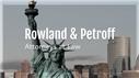 Rowland & Petroff Law Firm Logo