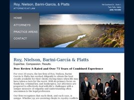 Firm Logo for Roy Nielson Barini-Garcia Platts