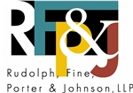 Rudolph, Fine, Porter & Johnson LLP Law Firm Logo