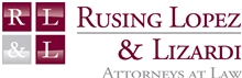 Firm Logo for Rusing Lopez & Lizardi, PLLC