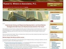 Firm Logo for Russel G. Winick Associates P.C.