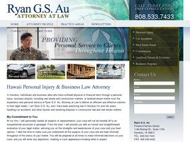 Firm Logo for Ryan G. S. Au, Attorney at Law