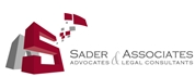 Firm Logo for SADER Associates (Advocates Legal Consultants)