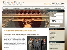 Salter Feiber, P.A. Law Firm Logo